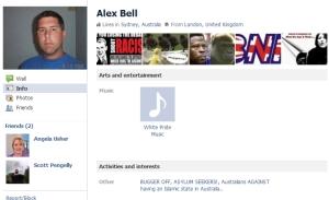Alex Bell Facebook