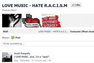 Scott Pengelly loves racism