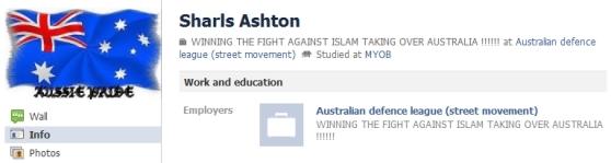 Sharls Ashton current profile