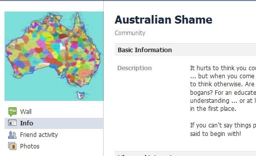 Australian Shame