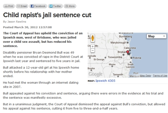 Named offender