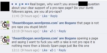 Tanty Bogan challenged