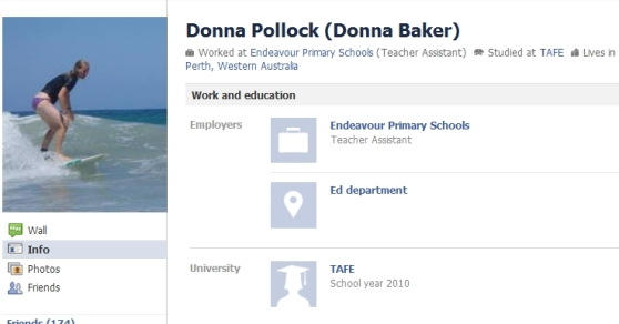 Donna Pollock Facebook