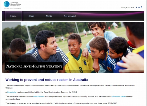 National Anti-racism Strategy