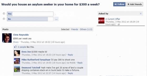Asylum seeker 1