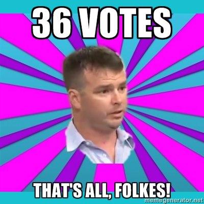 36 votes