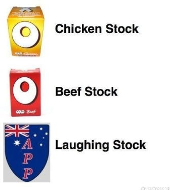 Laughing stock