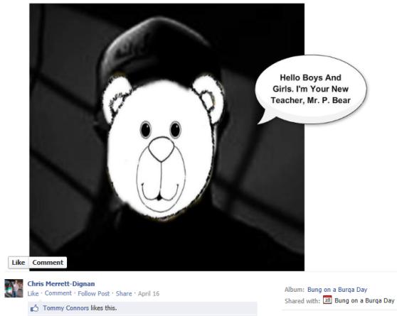 3 - Peadophile Posts - Chris Merrett Mr Pedo Bear