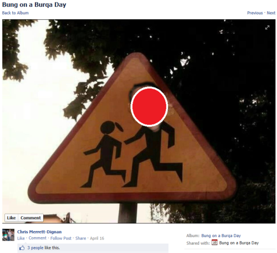 3 - Peadophile Posts - Chris Merrett Pedo Crossing Sign