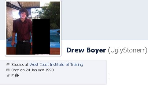 Here's Drew. Very average outside very ugly inside.