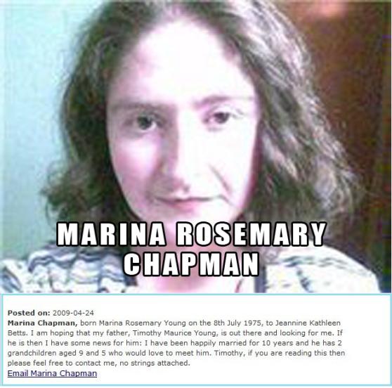 Marina Rosemary Young Chapman