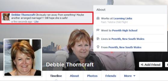 Debbie Thorncraft